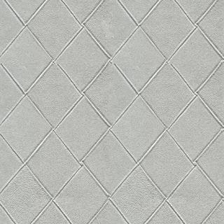 都會菱格紋_典雅銀(15012)