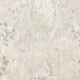 刺繡宮廷花朵_珠光紫系(62004)