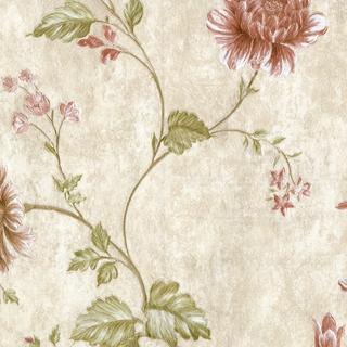 華麗刺繡花朵_奶茶底色(62015)
