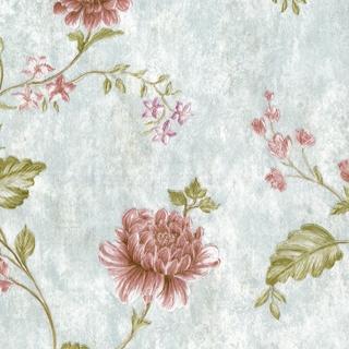 華麗刺繡花朵_淺藍底色(62013)