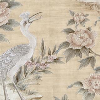 花鳥金蒔繪_米色底(HC161704)