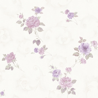 花朵卷卷_粉紫色花(2H3302)