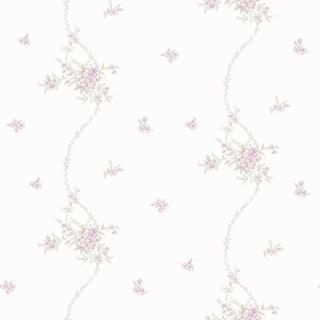 細緻波浪小花_白底紫花(LM1401)
