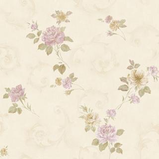 花朵卷卷_桃紅色花(2H3306)