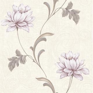 荷塘月色_黃底紫花(716203)