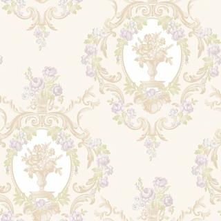皇家花園_珍珠白紫花(LM1203)