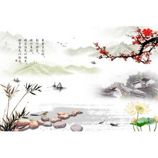 中國書畫系列(148-3-WBH0410)