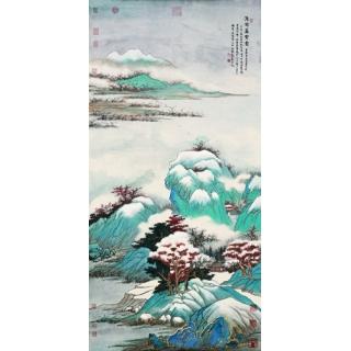 玄關壁畫系列(153-1-FWY3V0862)
